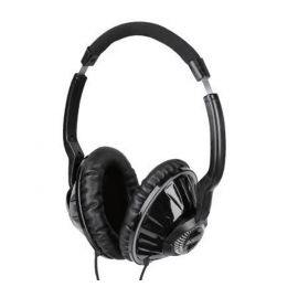 A4TECH HS-780 Bass Headset Mic in Line Noise Cancelling Mic - Black