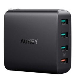 Aukey Amp 4-Port Wall Charger with Quick Charge 3.0