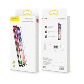 Baseus 0.3mm Full Cover Screen Protector For iPhone 11 Xi Max XI Protective Film Tempered Film For iPhone Glass