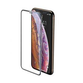 Baseus Full-screen Full Coverage 3D Tempered Glass Film with Speaker Dust Protector for Apple iPhone XS / X black SGAPIPH58-WA01