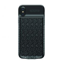 Baseus ACAPIPHX-BJ01 Plaid With Built-in Power Bank 3500mAh Battery Case for iPhone X