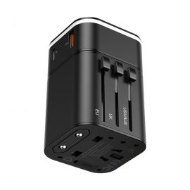 Baseus TZPPS-01 2 in 1 18W USB + USB-C / Type-C Interface Socket Fast Charging Kit