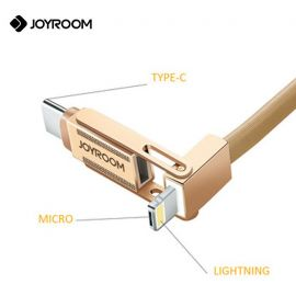 JOYROOM S-M337 LED Light Cable Ultra Thin USB Cable For Android