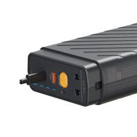 Baseus Power Starter Super Energy Car Jump Starter 16000 mAh 12V 800A 220V/100W black  for suitable Car emergency jump start and charging laptops, phones, drones and ventilators(CRJS02-A0G)
