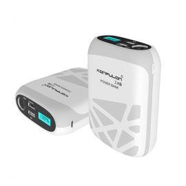 Konfulon Nest III 20000mAh Dual USB With LED Flash Light & Digital Display 2.1A Power Bank
