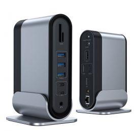Baseus multifunctional HUB 3 Gen 1 USB Type C SD micro SD card reader 2 Display Port in Pakistan