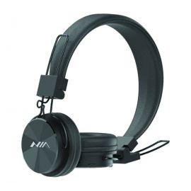 NIA-XP1 Bluetooth Headphone Wireless With Mic TF Card FM Radio - Black