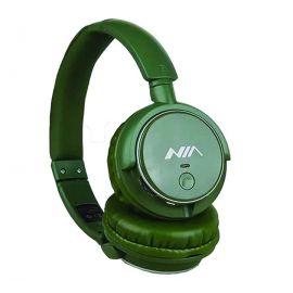 NIA Q1 Bluetooth Headphone Wireless Sports FM Radio SD Card Play Foldable With Mic