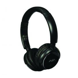NIA Q1 Bluetooth Headphone Wireless Sports Foldable With Mic - Black