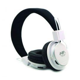 NIA-Q8 Bluetooth Headphone Wireless With Mic SD Card Play FM Radio