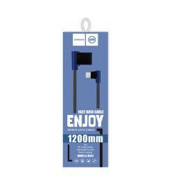 Original JOYROOM S-M341 Enjoy Series Type-C charge Transmission Data Line 1.2M - Black