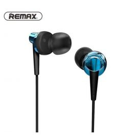 Remax RM-585 HD Metal Music In-Ear Red Earphone With Microphone