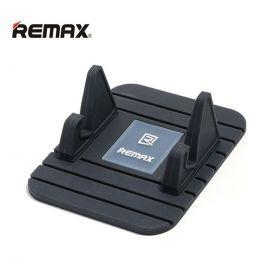Remax Fairy Mini Multifunction Soft Silicone Desktop Stand Holder - Black