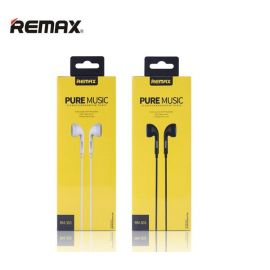Remax Portable RM 303 Classic Audio Pure Music Earphone 3.5mm In-Ear Bass Wire headsets With Switch Songs and Mic for iphone 6