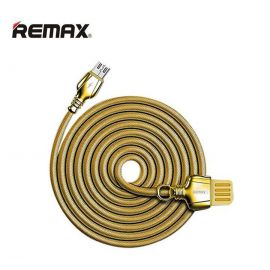 Remax RC-063i King Series Lightning Quick Charge Data Sync USB Cable - Golden
