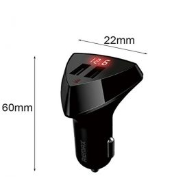 REMAX Aliens 2 USB Car Charger With LED Voltage For iPhone iPad Samsung 3.4A