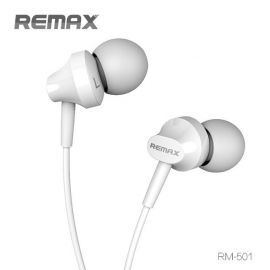 REMAX RM-501 Base Driven Stereo Earphones With Mic For Smartphone
