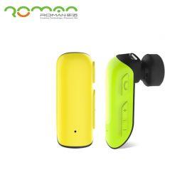Roman R550 Stereo Self-timer Wireless Bluetooth 4.1 Earphone With Mic