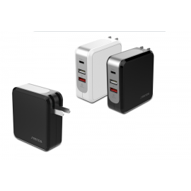 SEENDA 43W 3-Port USB  With Quick Charge 3.0 & Type-C USB port (ICH-24C )