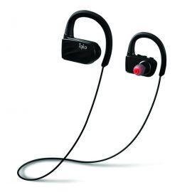 Tqka IP67 Waterproof Bluetooth Wireless Sports HD Stereo w/Mic Earphones