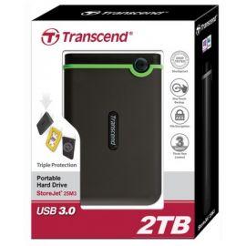 Transcend StoreJet 2TB Shockproof
