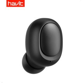 Havit IX501 Portable Lightweight Bluetooth Earbuds Earphone, Wireless Earpieces Headset With Charging Case - Black In Pakistan